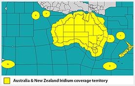 Iridium Australia NZ Network Coverage
